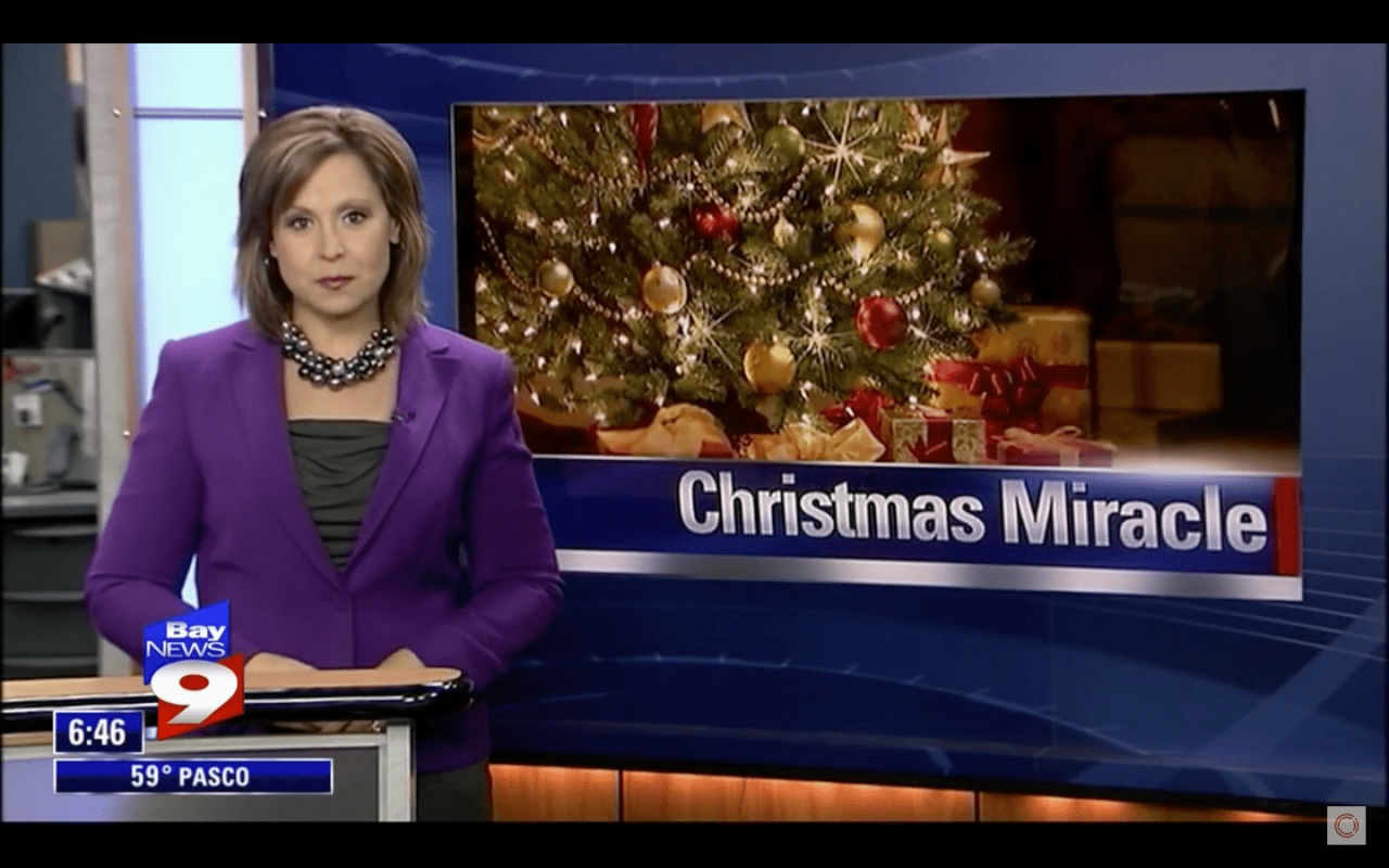 Bay News 9 Affordable Christmas Story